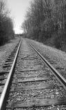 Een treinspoor Stock Fotografie
