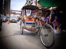Een tricicle in Chiang Mai Thailand royalty-vrije stock afbeeldingen