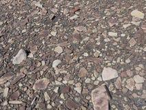 Een troosteloos plateau van rotsen royalty-vrije stock foto's