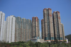 Een tseung kwan O, Hongkong stock afbeeldingen