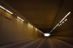 Een tunnel stock afbeelding
