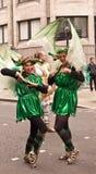 Een twee dansersDeel van Lord de Burgemeester toont stock afbeelding