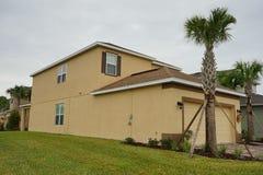 Een typisch huis in Florida Royalty-vrije Stock Fotografie
