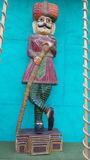 Een Typisch Indisch Standbeeld royalty-vrije stock foto's