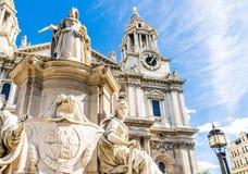 Een typische mening in Londen royalty-vrije stock fotografie