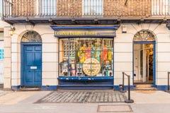 Een typische mening in Londen royalty-vrije stock afbeeldingen