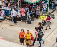 Een typische mening in San Salvador, El Salvador royalty-vrije stock foto