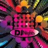 Een uitnodiging voor disco Stock Foto's