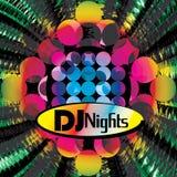 Een uitnodiging voor disco Stock Afbeelding