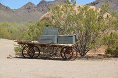 Een uitstekend dorp van Oud Tucson Royalty-vrije Stock Fotografie