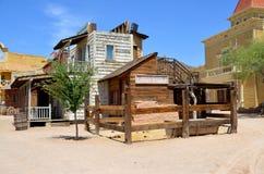 Een uitstekend dorp van Oud Tucson Royalty-vrije Stock Foto