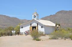 Een uitstekend dorp van Oud Tucson Royalty-vrije Stock Afbeelding