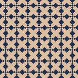 Een uitstekend vector eenvoudig patroon Stock Afbeelding