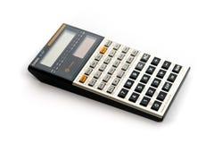 Een Uitstekende wetenschappelijke zakcalculator van de recente jaren '80 stock afbeelding