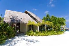 Een vakantie in de Maldiven royalty-vrije stock afbeelding