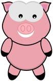 Een varkens status en gezicht Royalty-vrije Stock Fotografie