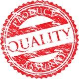 Een vector overgegaane zegel Royalty-vrije Stock Foto