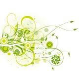Een vectorAchtergrond van de Vlinder Royalty-vrije Stock Foto