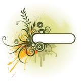 Een vectorAchtergrond van de Vlinder Stock Afbeeldingen