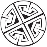 Een vectorillustratie van een Keltisch patroon Vector Illustratie