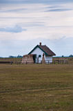 Een veehoederhuis in Hongaarse Puzsta royalty-vrije stock foto's
