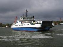 Een veerboot Stock Foto