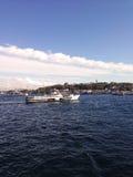 Een veerboot Stock Foto's