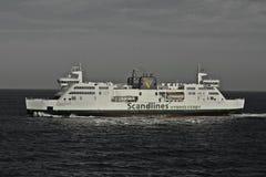 Een veerboot Stock Fotografie