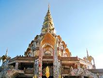 Een Verbazende Boeddhistische Tempel en een Pagode Royalty-vrije Stock Foto's