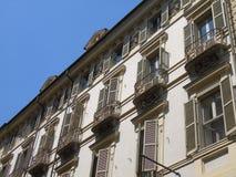 Een verbazende fotografie van de stad van Turijn stock afbeelding