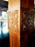 Een verbazende houten ambacht in Sri Lanka Stock Foto