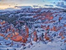 Een verbazende zonsopgangachtergrond Royalty-vrije Stock Foto's