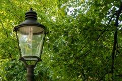 Een Verlichting en een lantaarn stock foto