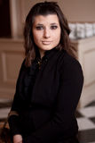Een verraste vrouw Royalty-vrije Stock Foto's