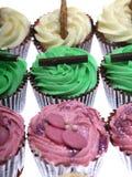 Een vers dienblad van Cupcakes royalty-vrije stock foto's
