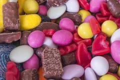 Een verscheidenheid van snoepjes Royalty-vrije Stock Afbeelding