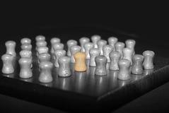 Een verschillende pin Stock Foto's