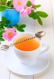 Een verse kop thee Royalty-vrije Stock Afbeeldingen