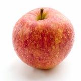 Een verse rode appel Stock Foto