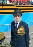 Een veteraan van Wereldoorlog II royalty-vrije stock foto's