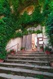 Een villa in Ravello, Italië Royalty-vrije Stock Afbeelding