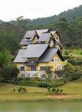 Een villa van luxetoevlucht in Dalat, Vietnam royalty-vrije stock afbeelding