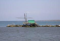 Een visserijhut stock afbeelding