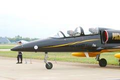 Een vliegtuig van Rus Groep bij maks-2013 Stock Afbeelding