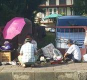 Een Vlooienmarkt in Bogor Oldtown Royalty-vrije Stock Foto
