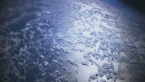 Een Vlucht over Aarde stock video