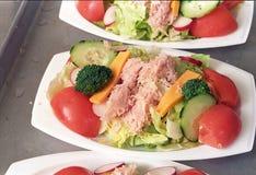 Een voedzame lunch stock afbeelding