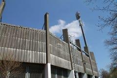 Een voetbalstadion Royalty-vrije Stock Foto's