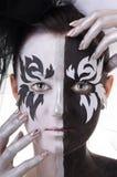 Een volledig-gezichtsportret Royalty-vrije Stock Afbeeldingen