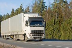 Een vrachtwagen van vrachtwagensreeks stock foto's